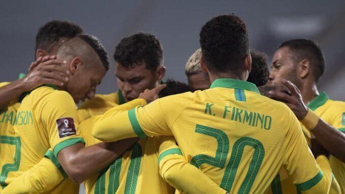 Partida da Seleção Brasileira teve números excelentes na TV Brasil Foto: CBF/Lucas Figueiredo