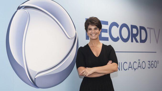 Mariana Godoy na Record TV (Antonio Chahestian / Record TV)