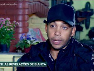 Jonathas, amigo de MC Kevin- Reprodução Record TV