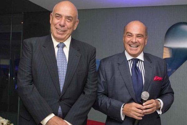 Funcionários da RedeTV!- Almicare Dallevo Jr. e Marcelo de Carvalho