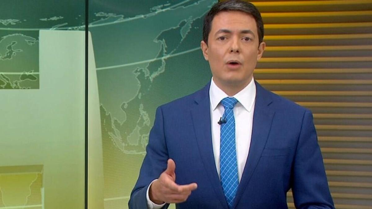 Alan Severiano- jornalista da Globo