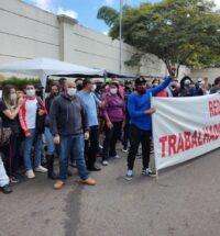 RedeTV- Funcionários em greve