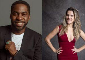 Lázaro Ramos e Ingrid Guimarães